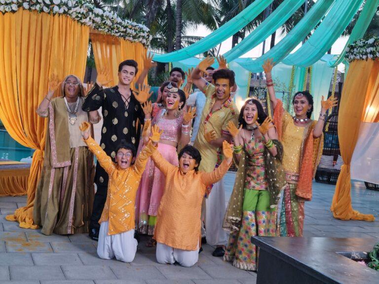 Yeh Rishta Kya Kehlata Hai – The Goenkas Have A Ball At Sirat And Ranveer's Haldi Celebration!