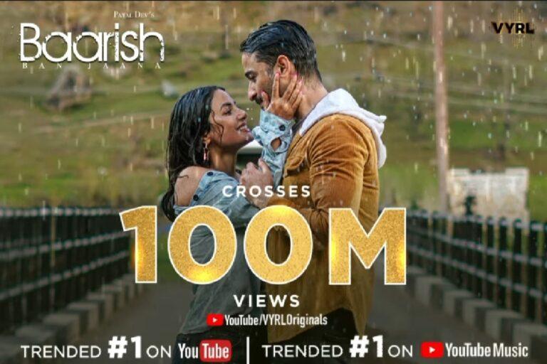 Shaheer Sheikh And Hina Khan's Baarish Ban Jaana Crosses 100 Million Views!