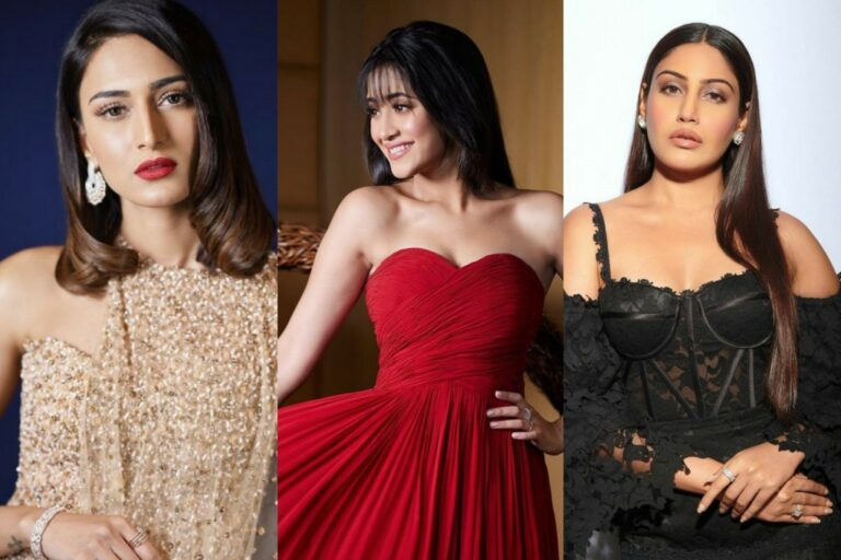 Erica Fernandes, Shivangi Joshi And Surbhi Chandna Look Stunning At The Iconic Gold Awards – CHECK OUT THEIR OUTFITS!