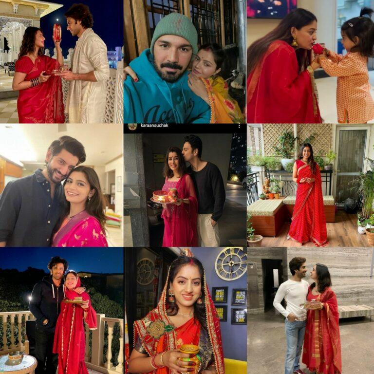 TV Stars Celebrate Karwa Chauth! – PICS INSIDE